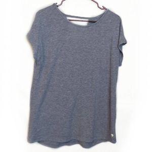 Apana Mottled Gray Short Sleeve Tee - M